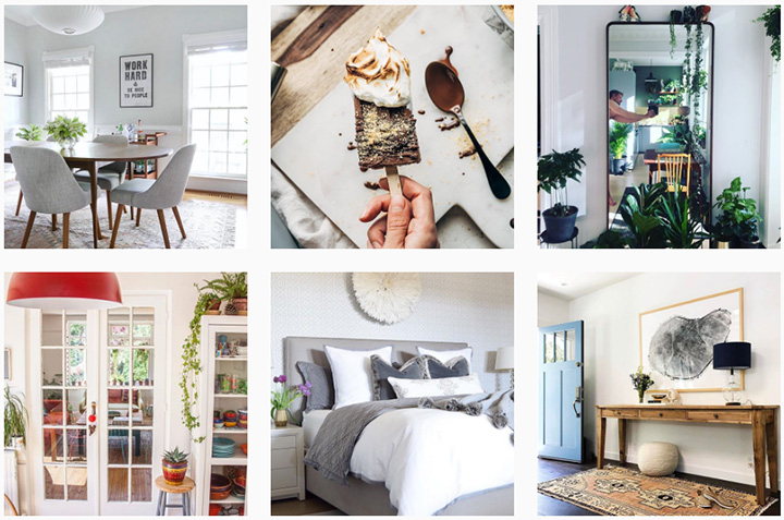 west elm instagram campaign